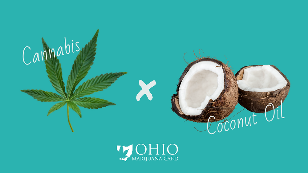 Cannabis and coconut oil