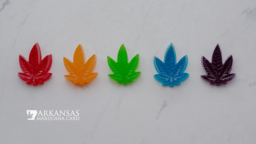 Cannabis-infused gummies for sleep