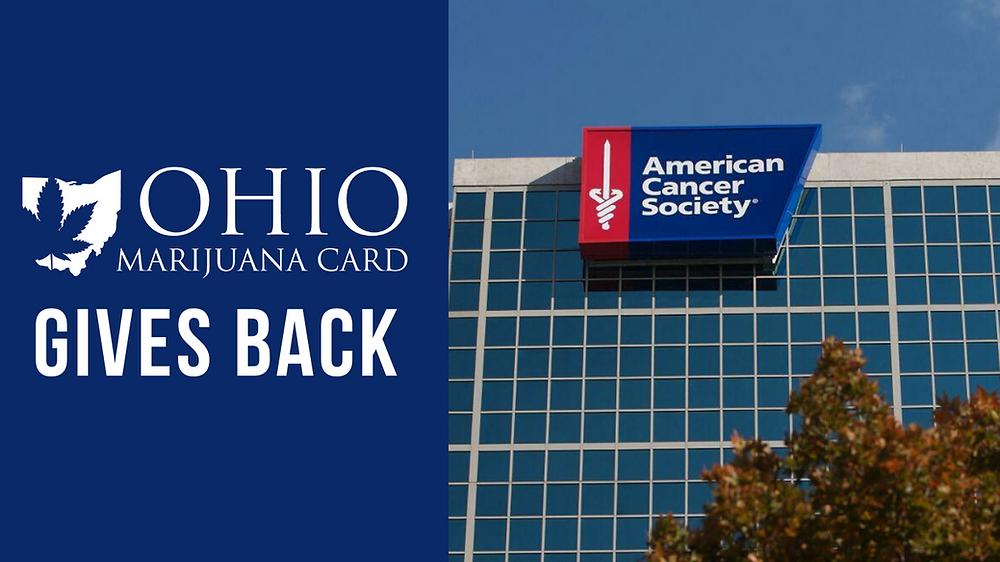 Ohio Marijuana Card Gives Back American Cancer Society