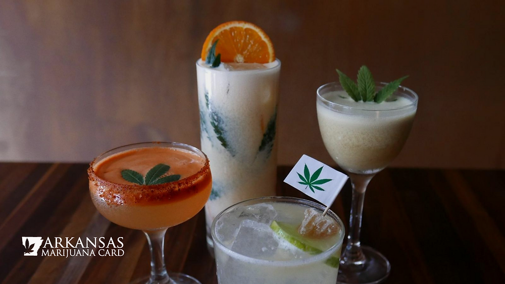 cannabis christmas drink recipes