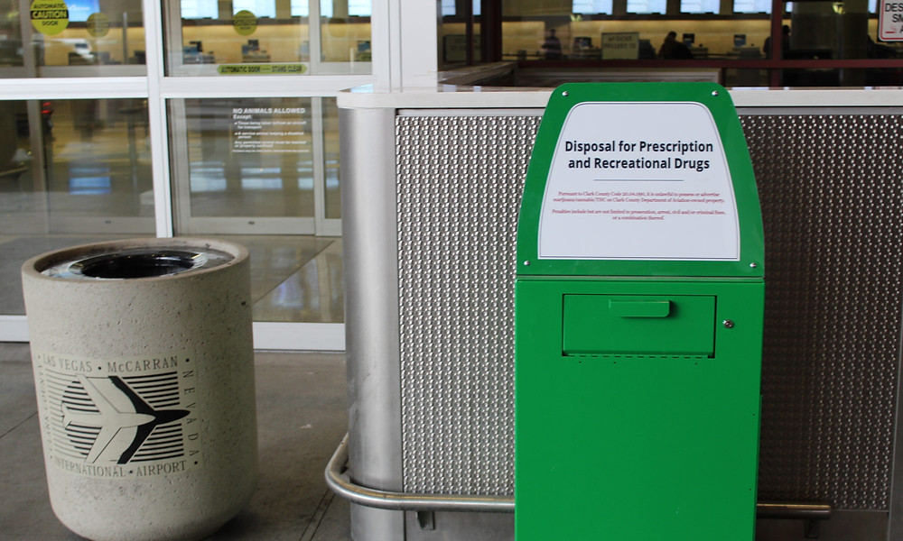 Traveling with Marijuana Amnesty Box