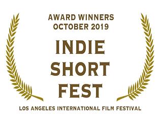 Award - Indie Short Fest LA - Oct 2019.p
