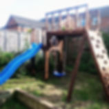 #treehouse, #playhouse #climbingframe_#g