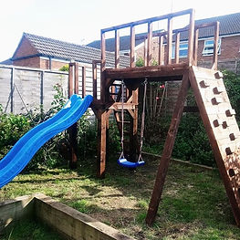 #treehouse, #playhouse #climbingframe_#g