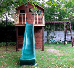 Two floor playhouse