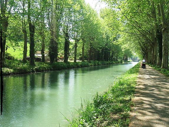 Canal de Garonne- Base nautique de Mailhan sur Garonne