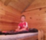Camper in bunk