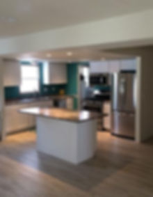 Staff house and guest lodge kitchen