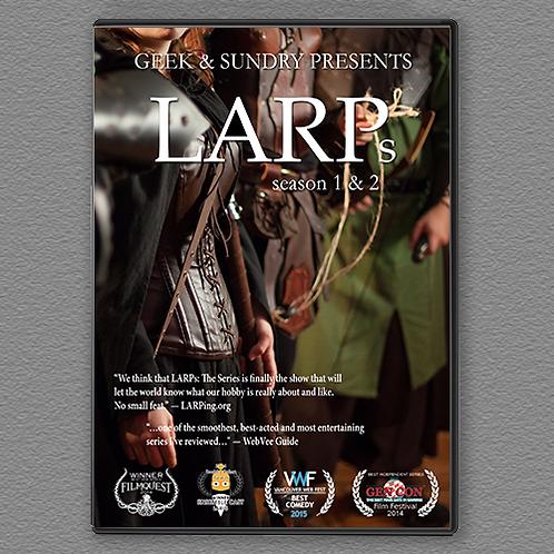 LARPs Season 01 & 02 DVD