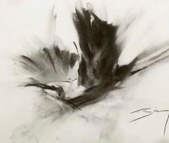 Bee Eater in Flight - charcoal.jpg