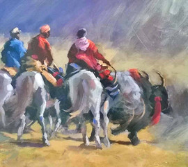 Tibetan Riders