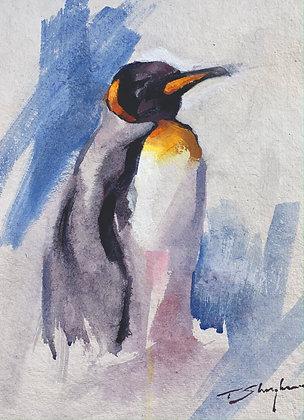 Penguin Acrylic A4 (21x30cm)