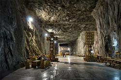 Salt mines of Praid