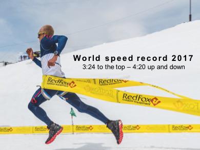 Karl Egloff - Speedrekord beim Red Fox Elbrus Race