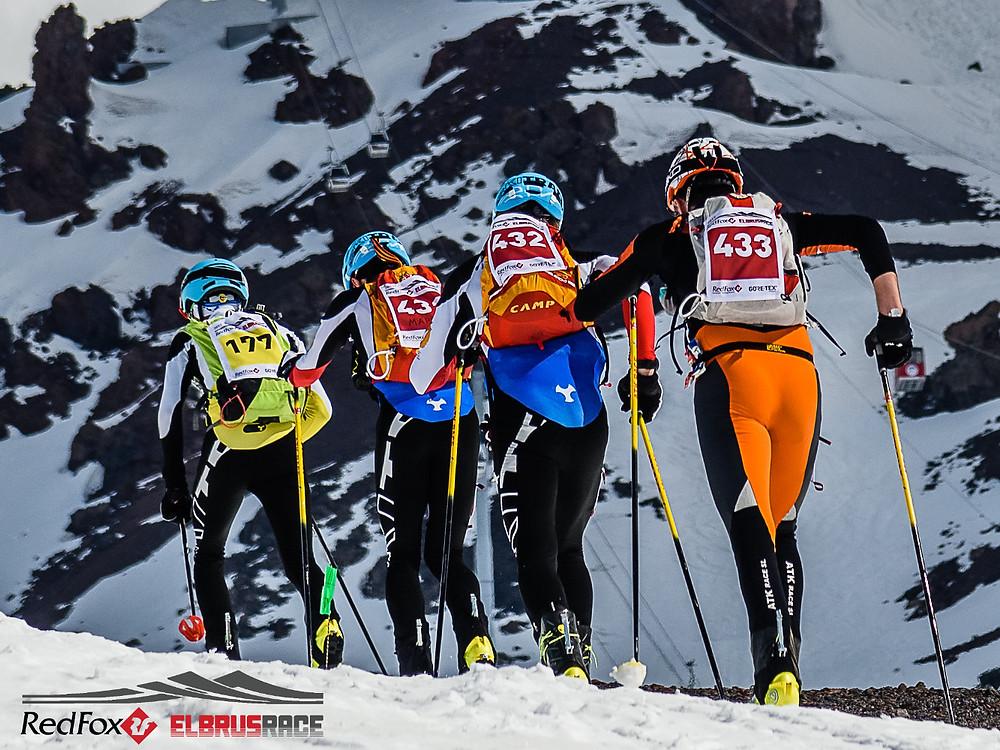 Neues Ski Touren Rennen beim Red Fox Elbrus Race mit Laufcoaches.com
