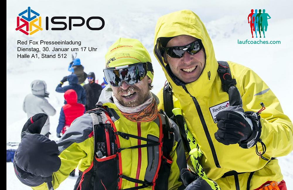 Laufcoaches.com präsentiert auf der ISPO das Red Fox Elbrus Race