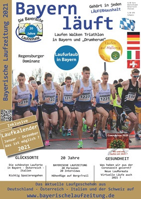 Laufcoaches.com empfiehlt Bayerische Laufzeitung