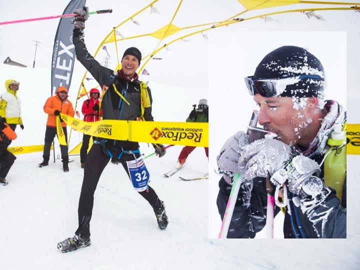 Dominik Salcher beim Red Fox Elbrus Race 2018