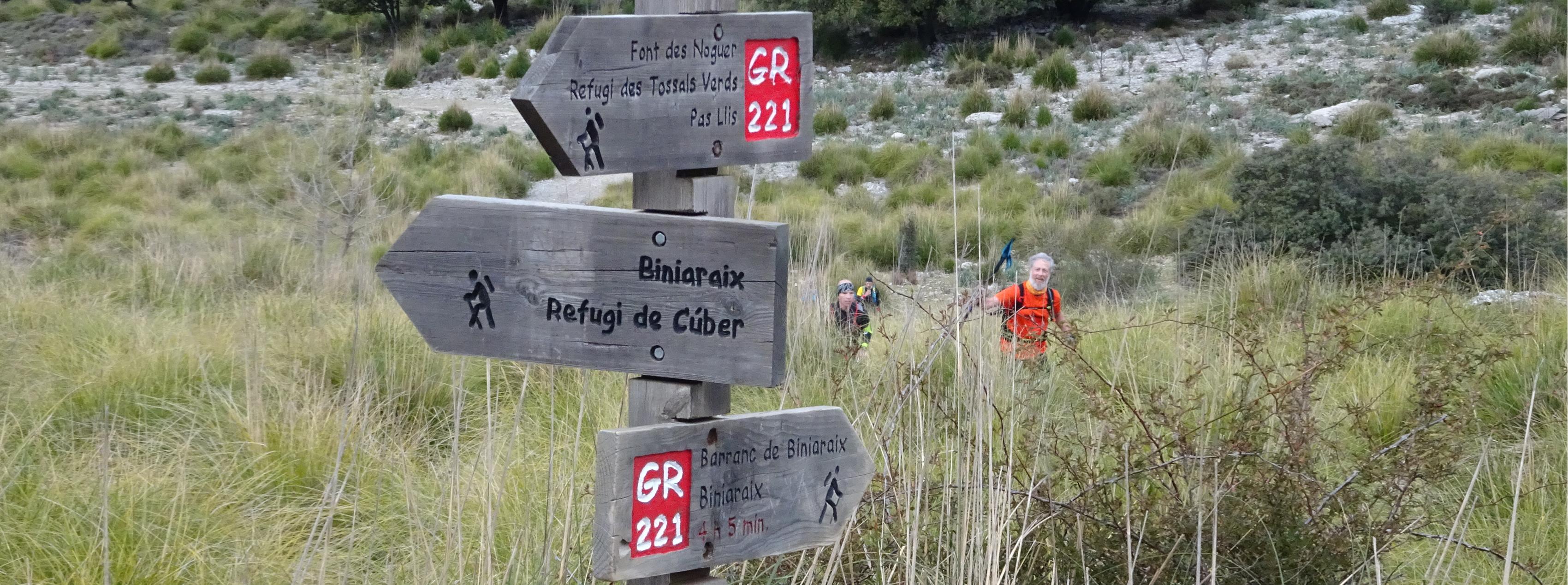 GR221 Trans-Mallorca - Wegweiser