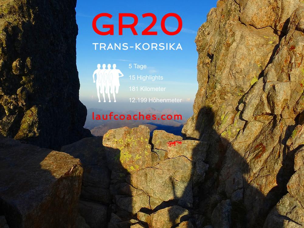Vortrag GR20(16) Trans-Korsika by Laufcoaches.com von Manfred Lindhof