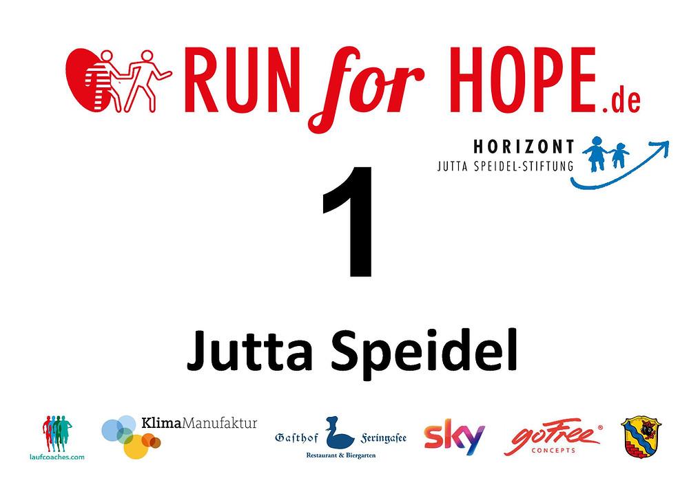 Der RUN for HOPE von Laufcoaches.com zugunsten der HORIZONT Jutta-Speidel-Stiftung