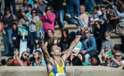 Marathon Lauf Buch Raab Ziel Glück