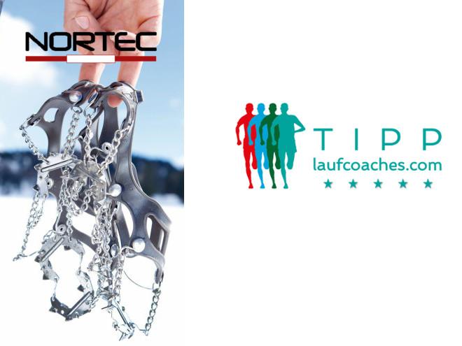 Laufcoaches.com empfiehlt Nortec Schneeketten