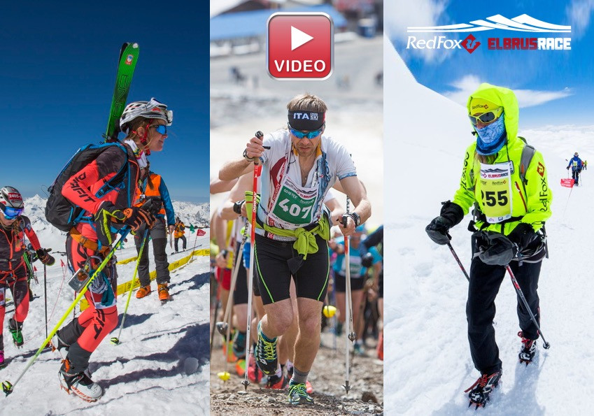Drei Rennen beim Red Fox Elbrus Race mit Laufcoaches.com