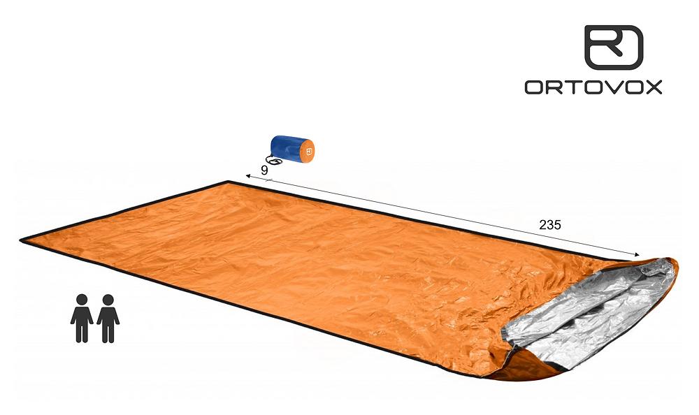 Laufcoaches.com empfiehlt den Ortovox Bivy Ultralight