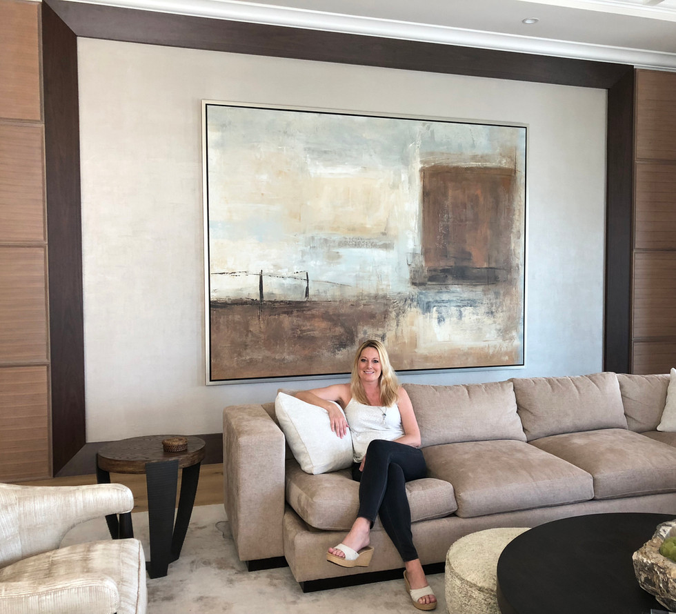 Abstract Artist Jessica Crabtree, Naples FL