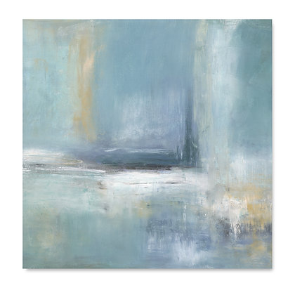 Shades of Blue square giclée print