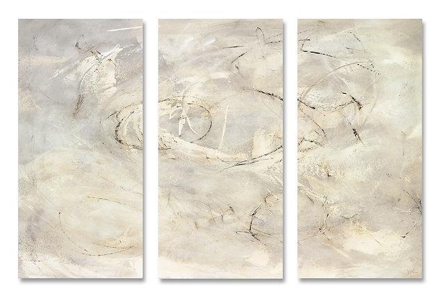 Letting Go Triptych giclée print