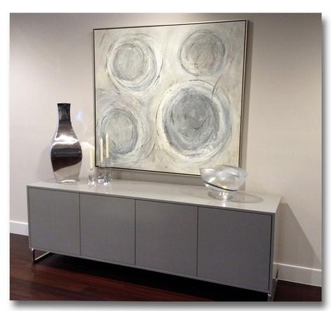 Custom Circle Abstract Art