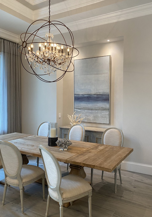 Beauty Beneath Artwork by J. Eric Crabtree. Interior Design by Laurie Walters of Cardamon