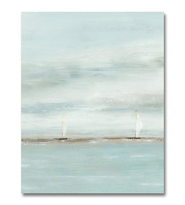 Sail with Me II vertical giclée print