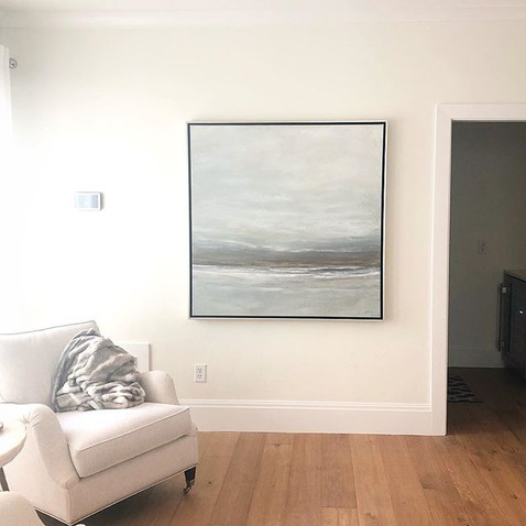 Coastal Abstract Painting Original