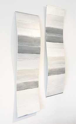 Curved Abstract Paintings