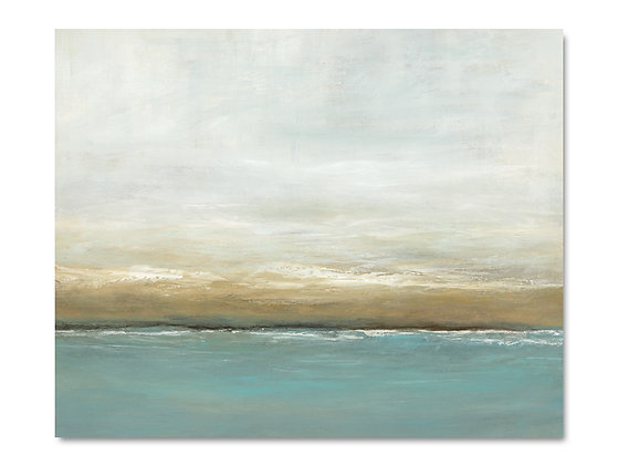 Coastline giclée print