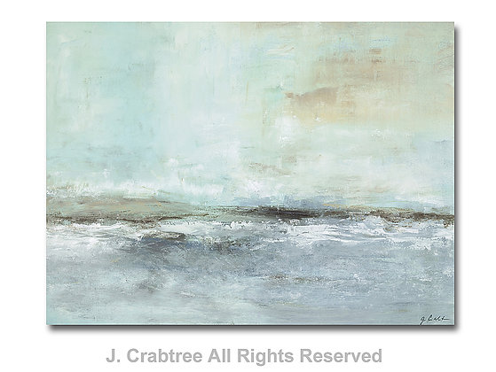 Whispering Sea giclée print- to the trade