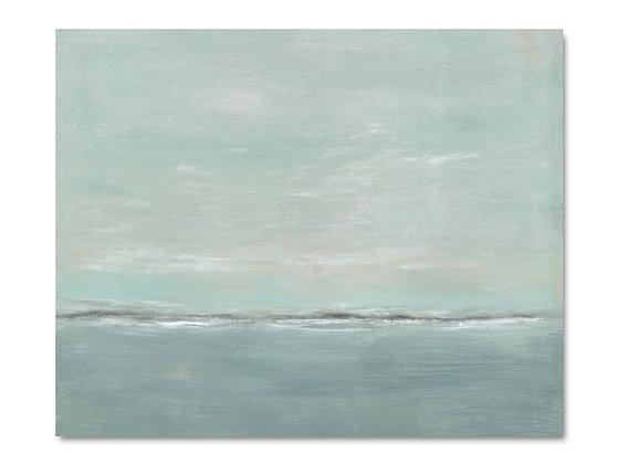 Misty Shore giclée print