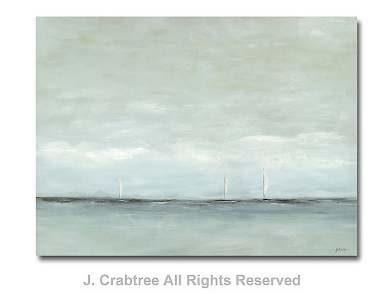 Sail with Me giclée print- to the trade
