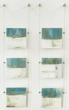 6 piece on plexi-glass