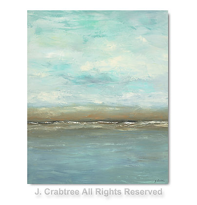 Blue Skies giclée print (vertical)- to the trade