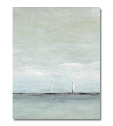 Sail with Me vertical giclée print