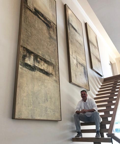 Large Custom Modern Paintings