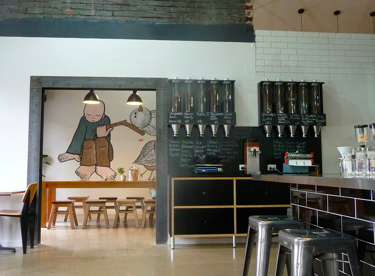 Bill Beans Cafe (mural)