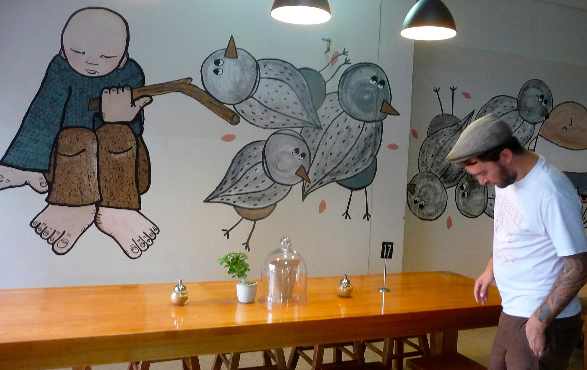 Bills Beans (mural)