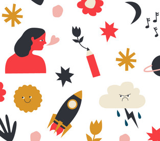 Illustrations for Wall Decals