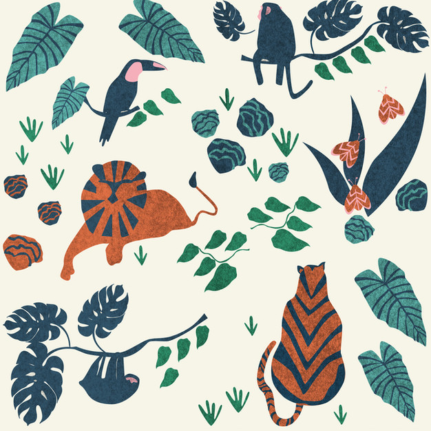 Textile Design for Wandering Books