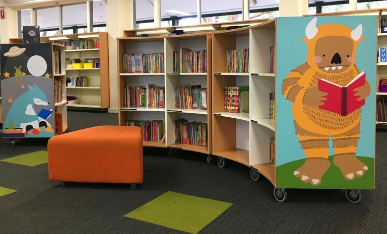Wilkins Primary Bookshelf Ends
